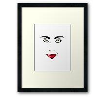 Lipstick Framed Print
