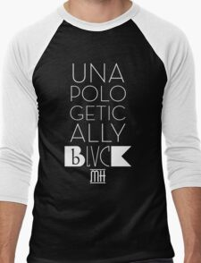 Unapologetically Black Men's Baseball ¾ T-Shirt