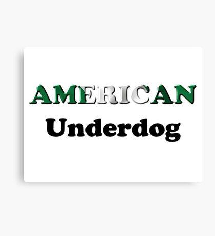 American Underdog - Nigeria Canvas Print