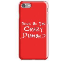 Pink Floyd - Shine On You Crazy Diamond iPhone Case/Skin