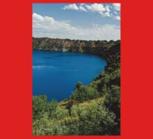 0855 Blue Lake - Mount Gambier Baby Tee