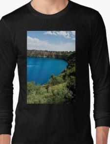 0855 Blue Lake - Mount Gambier Long Sleeve T-Shirt