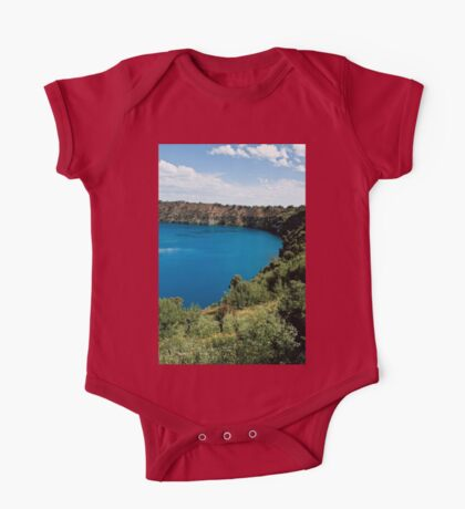 0855 Blue Lake - Mount Gambier One Piece - Short Sleeve