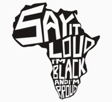 SAY IT LOUD: Africa by Carbon-Fibre Media