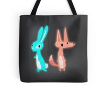 Ghost Animals - Bunny & Fox Tote Bag
