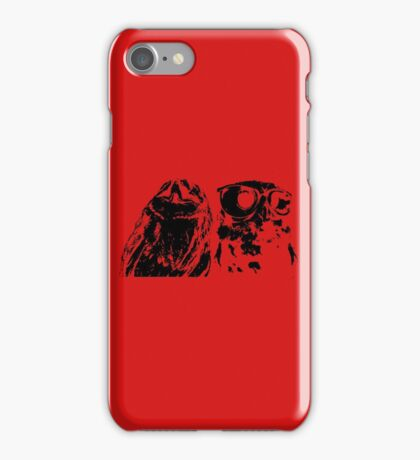 Wise Guys Black iPhone Case/Skin