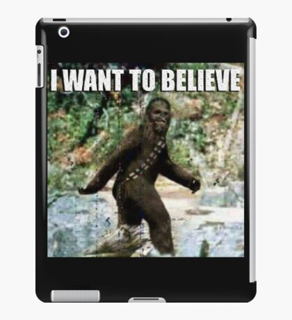 Chewy in the woods iPad Case/Skin