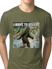 Chewy in the woods Tri-blend T-Shirt