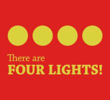 There are FOUR LIGHTS! (Yellow Ink) Kids Clothes