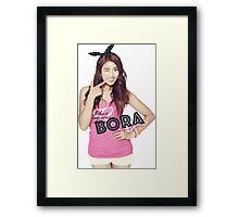 SISTAR - Bora Framed Print