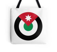 Roundel of the Royal Jordanian Air Force  Tote Bag