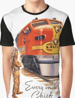 Vintage poster - Santa Fe Graphic T-Shirt
