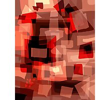 Abstract in Brown Photographic Print