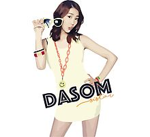 SISTAR - Dasom Photographic Print