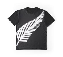 All Blacks Silver Fern Graphic T-Shirt