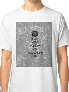 Carry on Wayward Sons Grunge Classic T-Shirt