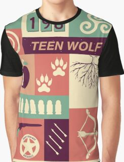 Teen Wolf Poster Graphic T-Shirt