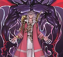 Thief King Bakura and Zorc by fullmetal394