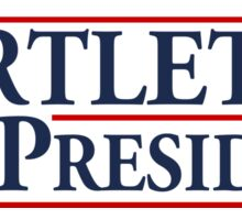 Bartlet for President Sticker