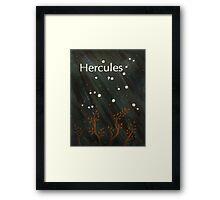 Hercules Framed Print