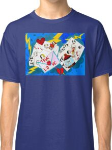 Lucky Love by Lollypop Arts Classic T-Shirt