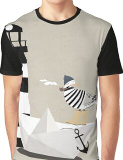 Fisher seagull Graphic T-Shirt