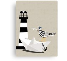 Fisher seagull Canvas Print