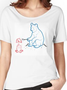 Da Bears - Camping Women's Relaxed Fit T-Shirt