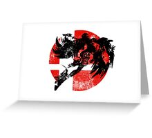 Bayonetta Smash - Red Greeting Card