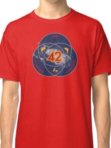 The Answer to Life, the Universe & Everything (Ultimate Venn Version) Classic T-Shirt