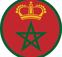 Roundel of the Royal Moroccan Air Force by abbeyz71