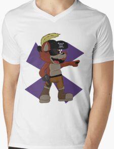 Foxy the Pirate Design  Mens V-Neck T-Shirt