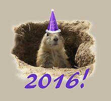 Prairie Dog New Year 2016 by TwoFriends