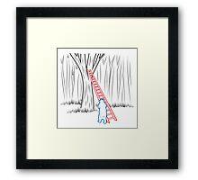 Da Bears - Climbing Framed Print