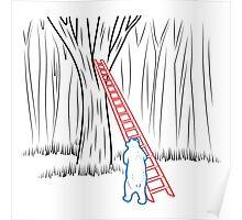 Da Bears - Climbing Poster