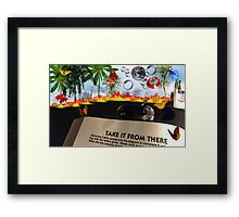 The Nose KNOWS! Framed Print