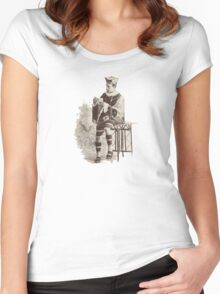 The King of Hearts Women's Fitted Scoop T-Shirt