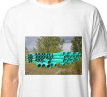 Aqua Pipes Classic T-Shirt
