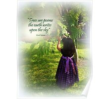 A Child in Nature Poster