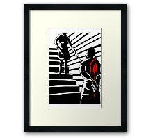 Crime in the Film Noir  Framed Print