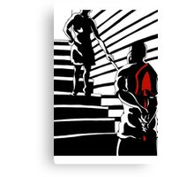 Crime in the Film Noir  Canvas Print