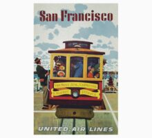 Vintage poster - San Francisco One Piece - Long Sleeve
