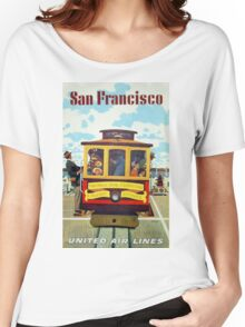 Vintage poster - San Francisco Women's Relaxed Fit T-Shirt