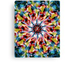 Tangent Abstract  Canvas Print
