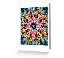 Tangent Abstract  Greeting Card