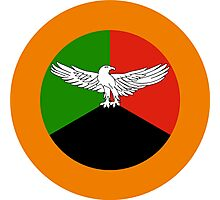 Roundel of the Zambian Air Force  Photographic Print