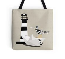Fisher seagull Tote Bag