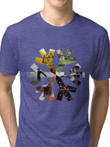 Snow Patrol Snowflake Albums Tri-blend T-Shirt