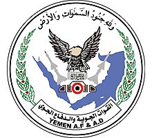 Emblem of the Yemeni Air Force Photographic Print