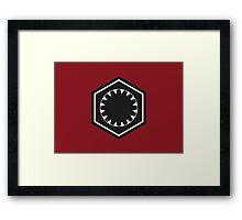 Star Wars First Order Logo Framed Print